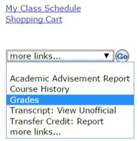 Student advising gpa calculator 2 select the latest available term and click on continue ccuart Choice Image